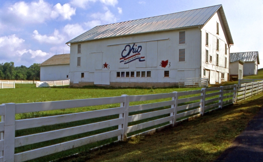 Ohio Bicentennial Barn Holmes County. ©Joe Geronimo 2012.