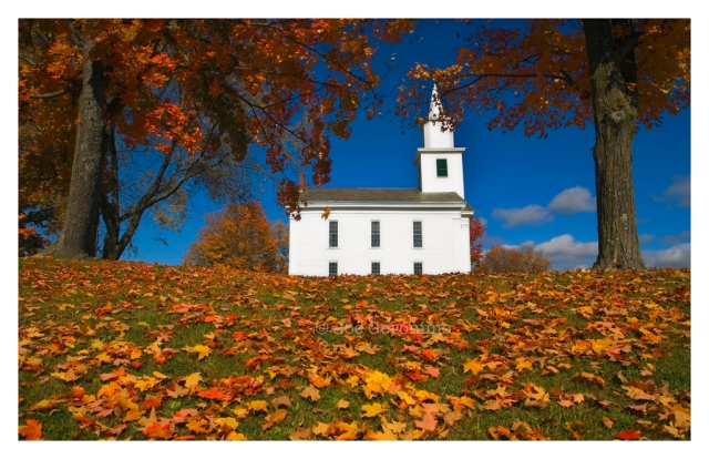 Whiting Community Church, Whiting Vermont October 17th 2008.