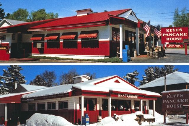 Keyes Pancake House Old Forge NY.