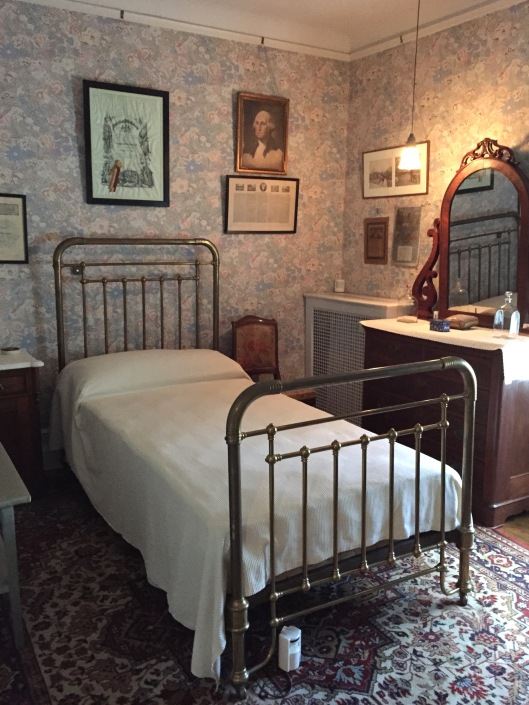 Franklin's boyhood bedroom
