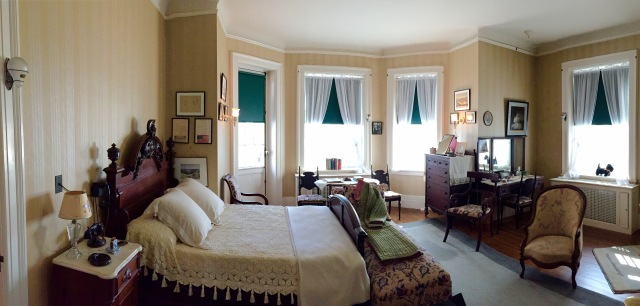 Franklin and Eleanor's bedroom until Franklin was stricken with polio