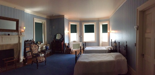 Sarah Roosevelt's room which was Franklin's mother