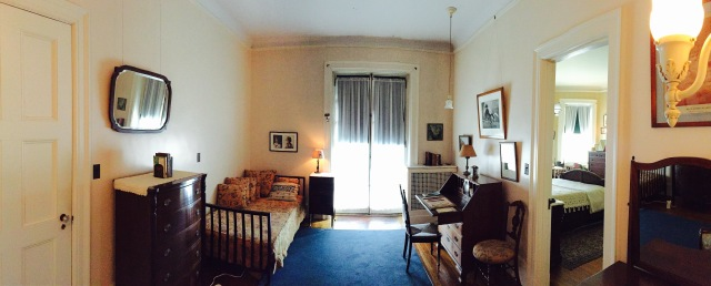 Eleanor Roosevelt's bedroom