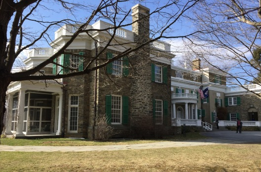 FDR's home in Hyde Park, New York.