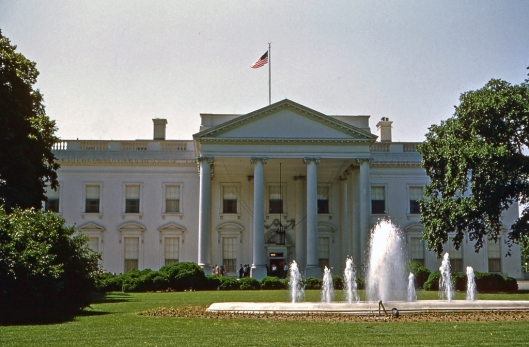 "White House ""North"" Washington, DC June 1953. © Joe Geronimo Collection"