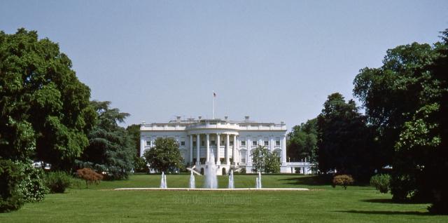 "White House ""South"" Washington, DC June 1953. © Joe Geronimo Collection"