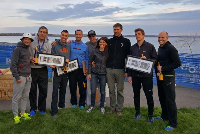 L-R: Ryan Heinlein, Joe Geronimo, Aaron Perry, James Wilson, Dan Cavlari, Race Directors: Jackie Augustine & Jeff Henderson, Adrian Milisavljevich & Jordan Varano.
