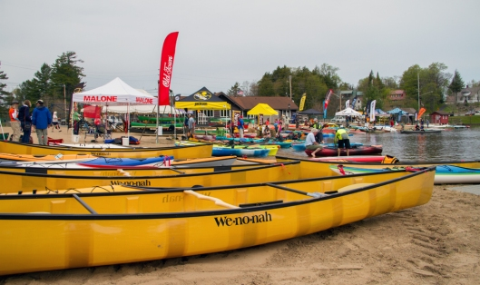 Adirondack Paddlefest Old Forge, NY. Image © Joe Geronimo