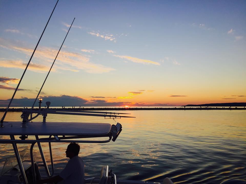 "Sunset ""Little Traverse Bay"" Petoskey, MI. Image © Joe Geronimo"