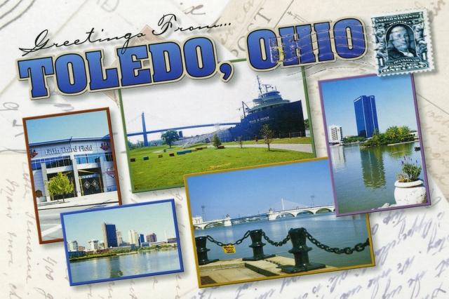Postcard Toledo