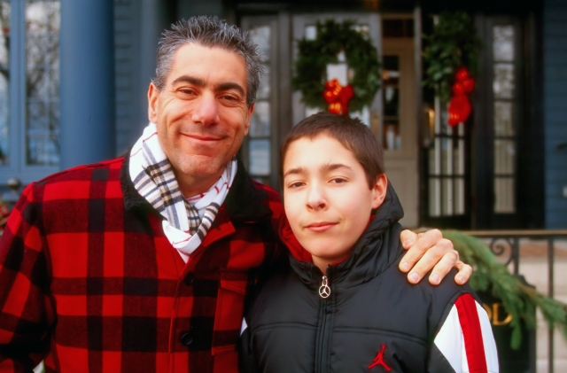 """Michael & I as we spent the day in Skaneateles, NY for their annual """"Dickens Christmas"""" on December 9th 2012. Image © Julie Geronimo"""