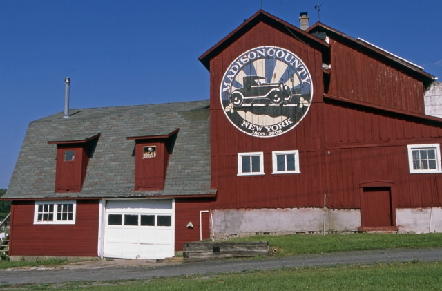Madison County Bicentennial barn 3232 Route-13 Cazenovia, NY August 20t 2016. ©Joe Geronimo
