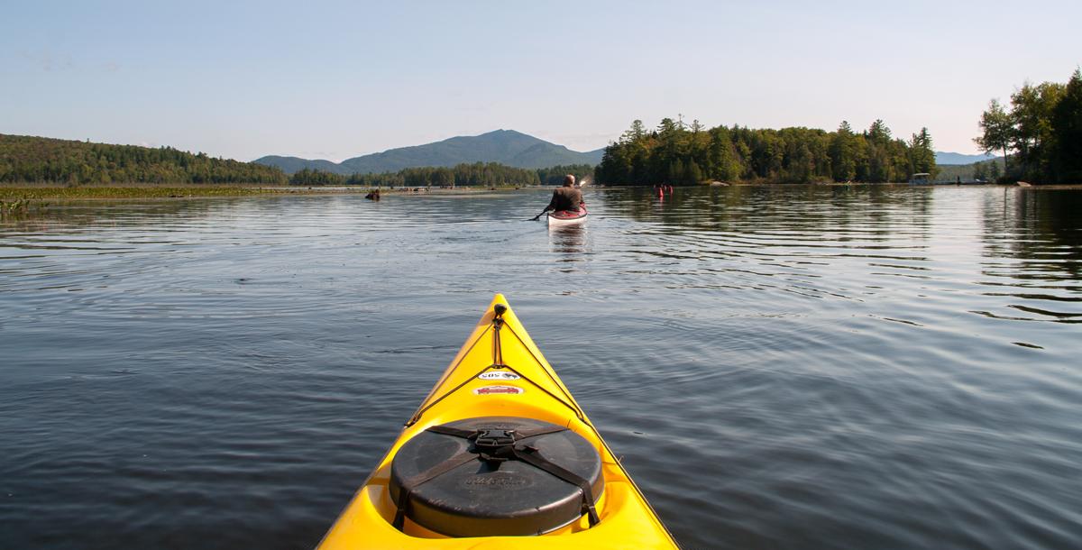 Oseetah Lake Saranac Lake NY September 3rd 2016