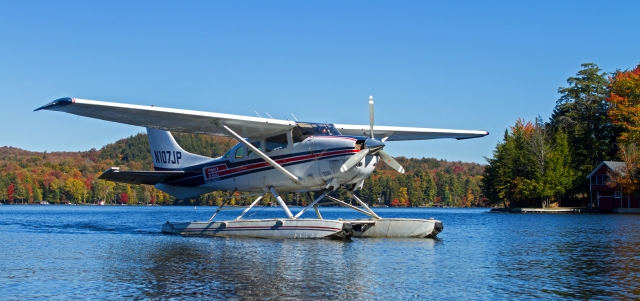 Payne's Air Service 7th Lake. Inlet, NY October 6th 2016 Image © Joe Geronimo