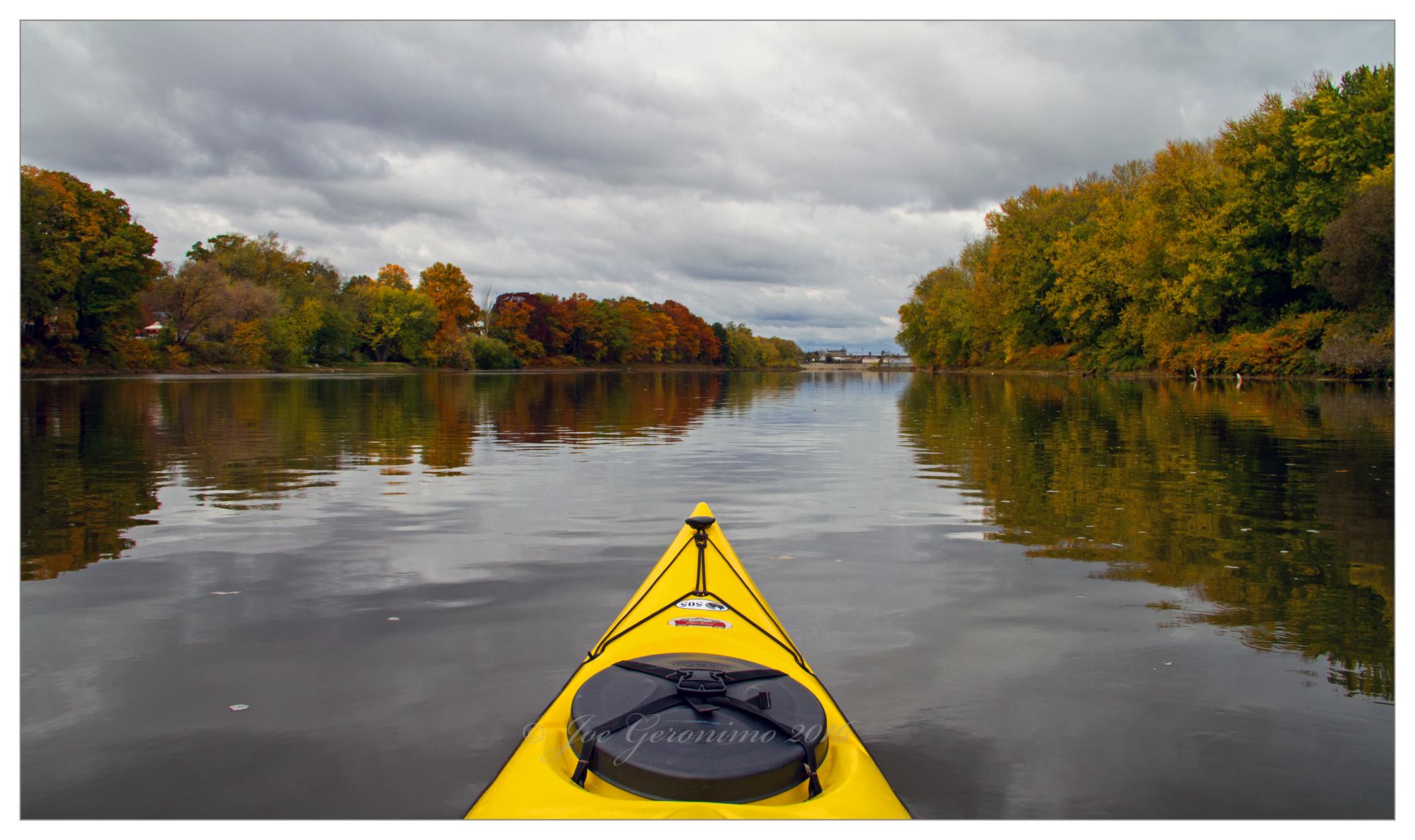 Along the Susquehanna river Binghamton, NY October 26th 2016. Image © Joe Geronimo