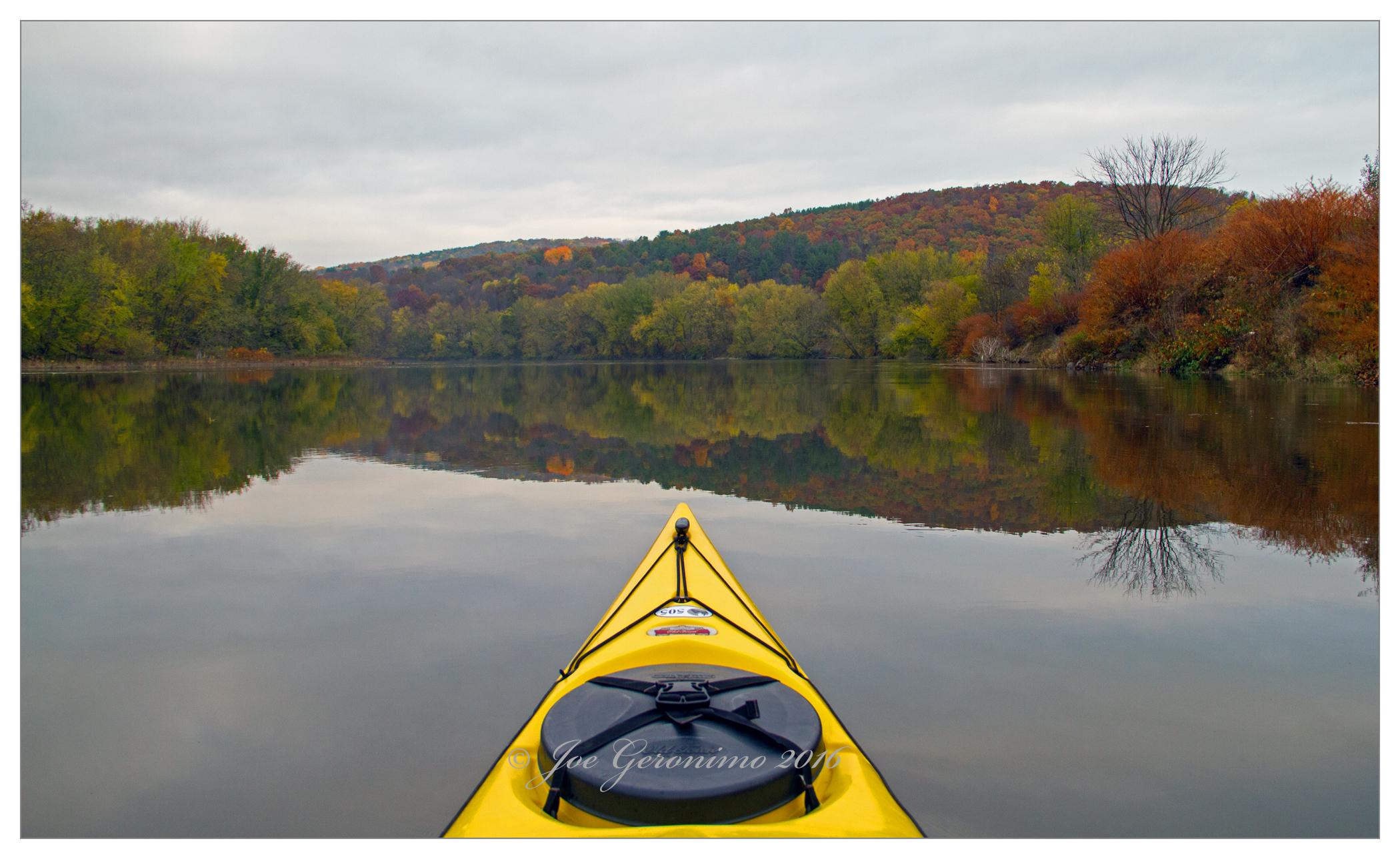 Along the Susquehanna river Apalachin, NY October 30th 2016. Image © Joe Geronimo