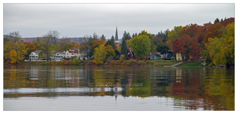 Getting close to Owego, NY October 30th 2016. Image © Joe Geronimo