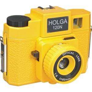 Holgawood 120N Medium Format Camera (Yellow Brick Road)