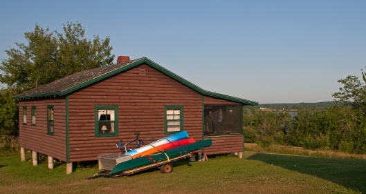 "Our cabin ""Which was awesome"" Castine, Maine. © Joe Geronimo"