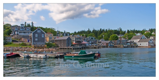 Stonington Harbor Mt. Desert Island, Maine 2014. © Joe Geronimo